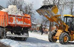 С территории Коркино вывезено более 3 тысяч кубометров снега