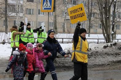 Сегодня ГИБДД Коркино проверит водителей и пешеходов
