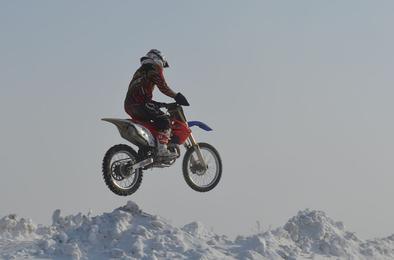 В Коркино прошёл турнир летающих мотоциклистов