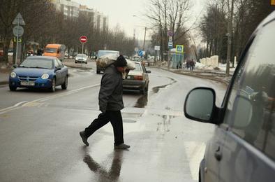 В Коркино недисциплинированные пешеходы