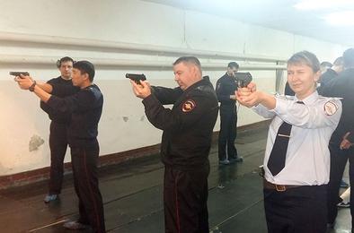 Коркинские полицейские соревнования посвятили женщинам