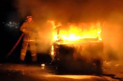 В Коркино предпраздничный день был жарким для пожарных