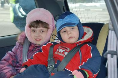 Сегодня ГИБДД проверит перевозку детей