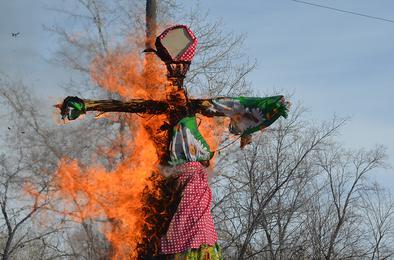В Коркино состоялся традиционный праздник проводов зимы