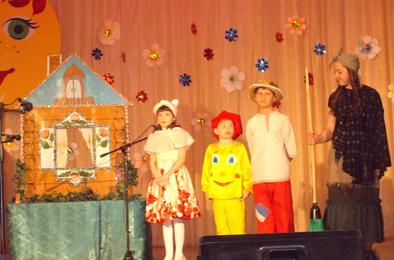 В Коркино прошёл фестиваль детского творчества «Искорки надежды»