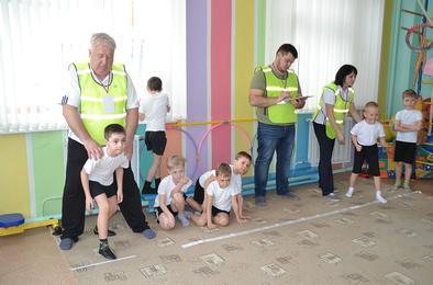 В Коркино нормативы ГТО сдают всем детсадом