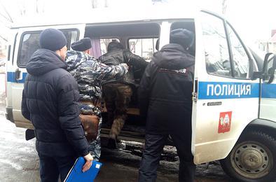 Полицейские Коркино проверили район