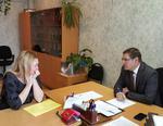 Глава Коркинского района провёл сегодня приём граждан