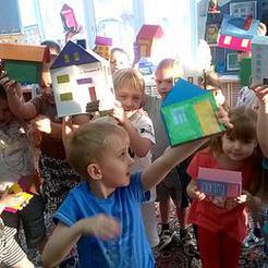 В детском саду Коркино построили любимый город в миниатюре
