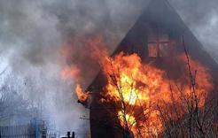 В Коркино горел сарай, погибло полсотни кур