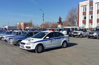 Полицейские Коркино провели смотр служебного автопарка