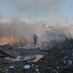 Сегодня в Коркино горит трава и стихийные свалки