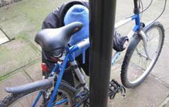 Уже трое коркинцев лишились своих велосипедов