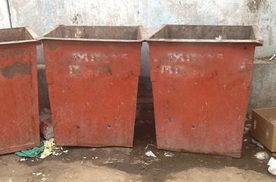 В Коркино воры крадут даже мусорные контейнеры
