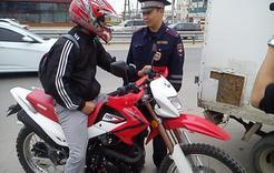 В Коркино мотоциклисты ездят без прав и нетрезвыми