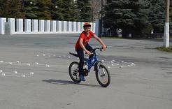 Юные велосипедисты Коркино показали мастерство вождения