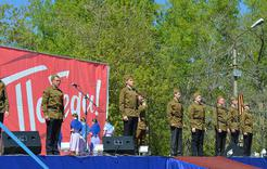 Афиша праздничных мероприятий в честь Дня Победы