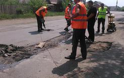 На дорогах Коркино начнётся ямочный ремонт