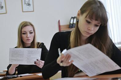 Коркинские выпускники сдают экзамены