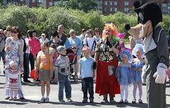 У детей Коркино лето начинается с праздника