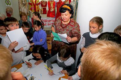 Мастер класс по каллиграфии от коркинцев