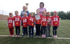 Детсадовцы Коркино отметили День защиты детей спортивным праздником