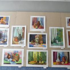 Юные художники Коркино открыли собственную экспозицию
