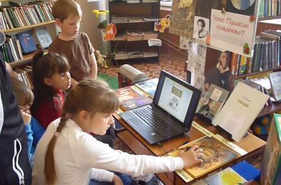 Коркинские дети открыли для себя мудрые советы Пушкина