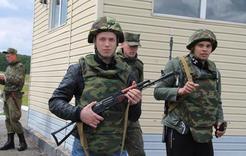 Коркинские студенты примерили военную форму
