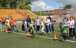 На стадионе «Горняк» состоялся второй тур летней спартакиады