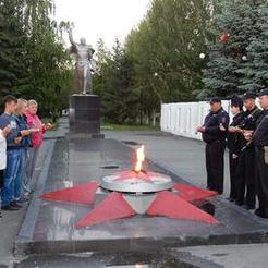 Полицейские Коркино провели акцию «Завтра была война»