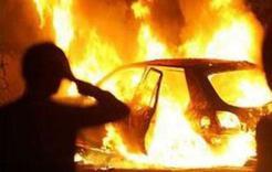 В Коркино снова подожгли автомобиль