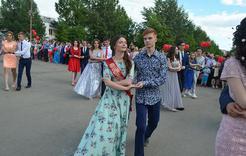 Сегодня в Коркино прошёл выпускной бал
