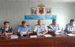 Полицейские Коркино подвели итоги первого полугодия