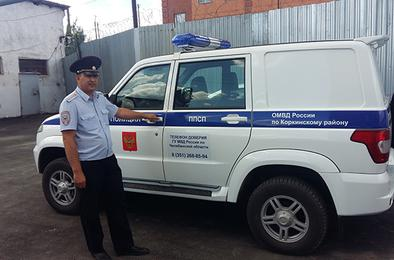 Полиция Коркино получила новый служебный автомобиль