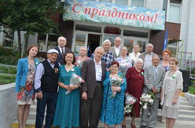 В Коркинском районе отметили день семьи, любви и верности