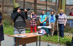 В Коркино провели «Зарницу» для ребят профильной смены