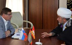 Власти Коркино и мусульманский лидер области обсудили строительство мечети