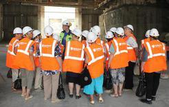 Пенсионеры Коркино побывали на цементном заводе