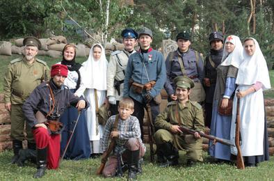 Сегодня в Челябинске покажут сражения Первой мировой