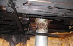 В Коркино вчера горела баня