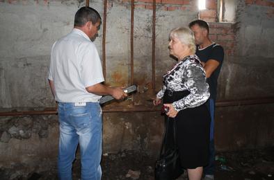 Сегодня Госжилинспекция проверила работу розинской управляющей компании