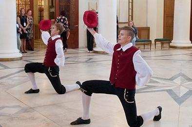 Коркинцы блеснули талантом перед иностранными гостями