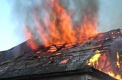 В Коркинском района загорелась очередная баня