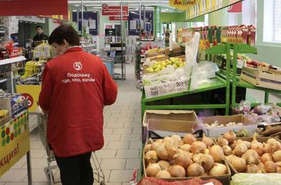 В Коркино неизвестные украли продуктов на крупную сумму