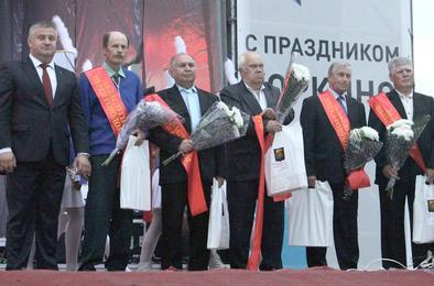 В Коркинском районе отметили День города и День шахтёра