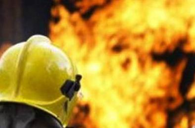 Вчера в Коркино произошёл пожар в жилом доме