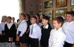 Ученики коркинских школ побывали на выставке