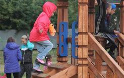 На Розе открыли очередную детскую площадку