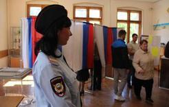 Выборы в Коркино под охраной полиции